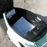 2016 Kymco Compagno 110i underseat storage