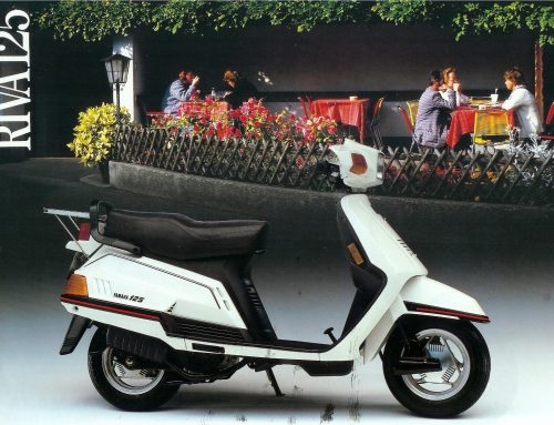 2001 Yamaha Riva 125cc