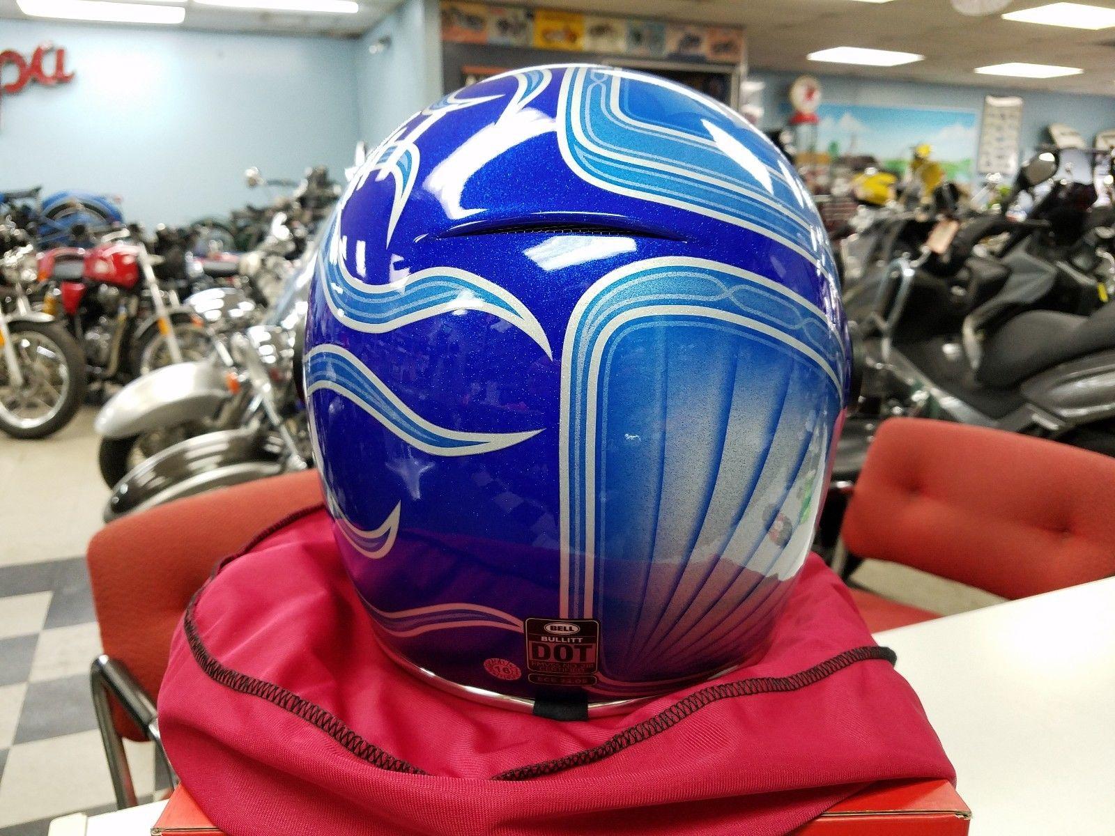 Bell Bullitt SE Chemical Candy Blue