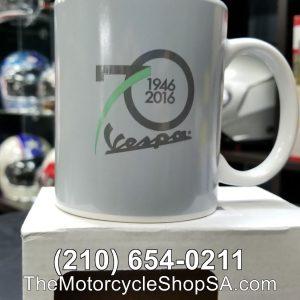 grey ceramic vespa mug