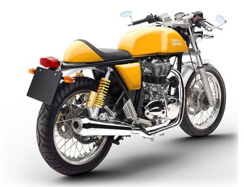 2015 Royal Enfield GT535 in Yellow