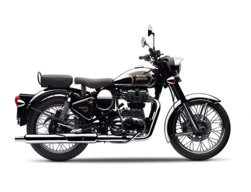 2016 Royal Enfield Classic 500 in Black/Ivory