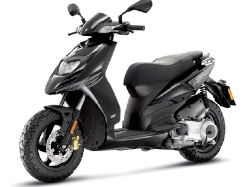 2017 Piaggio Typhoon 125 in Black
