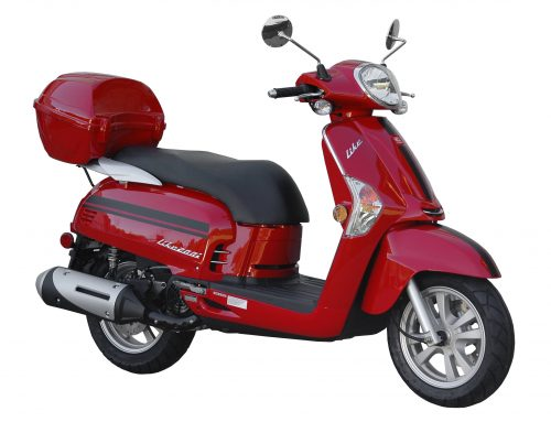 2018 Kymco Like 200i in Red