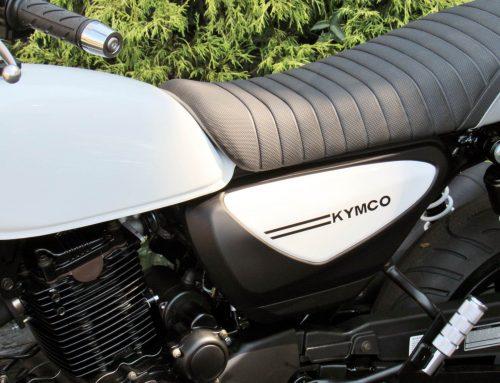 2018 Kymco Spade 150i in White