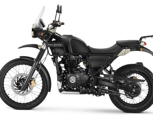 2018 Royal Enfield Himalayan in Black
