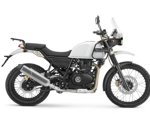 2018 Royal Enfield Himalayan in White