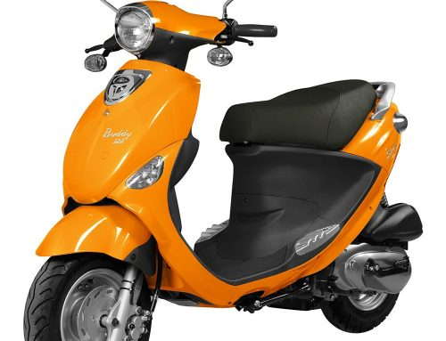 2016 Genuine Buddy 125 in Tangerine