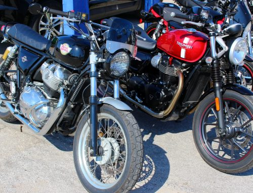 Royal Enfield INT650 or Triumph Street Twin? Your choice.