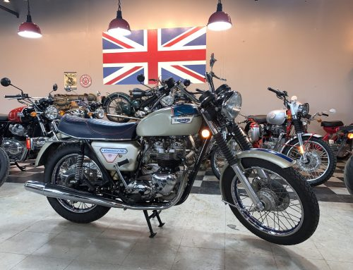 """1977 Triumph T140 """"Silver Jubilee"""""""
