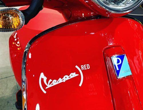 "New Vespa ""RED"" Primavera 150 in Stock!"