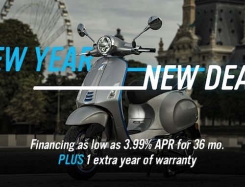 Vespa & Piaggio New Year, New Deals!